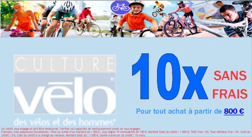 Payez en 10x sans frais avec votre magasin culture v lo nantes - Paiement 10x sans frais ...