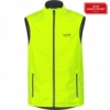 Gore Gilet ESSENTIAL WINDSTOPPER® Active Shell neon yellow